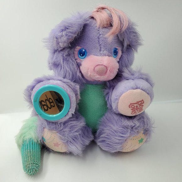 Vintage Other - Vintage BRUSH A LOVES 1986 Amtoy  Posy Plus Toy